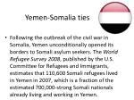 yemen somalia ties1