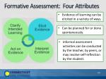 formative assessment four attributes2