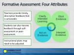 formative assessment four attributes4