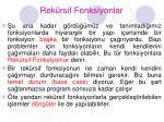 rek rsif fonksiyonlar1