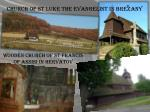 church of st luke the evangelist in bre z any