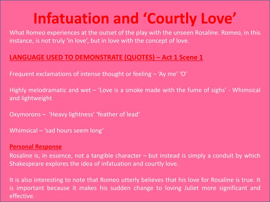 romeo and juliet courtly love essay