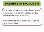 exemple introductif