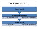 processus s i g 1