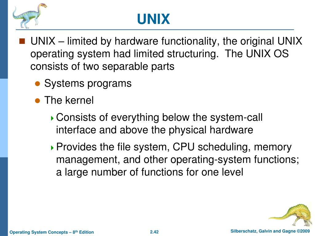 Ppt Chapter 2 Operating System Structures Powerpoint