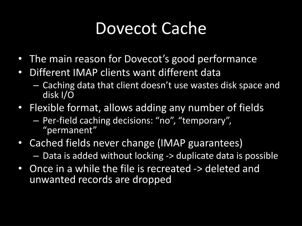 PPT - Dovecot M ail Storage PowerPoint Presentation - ID:2215670
