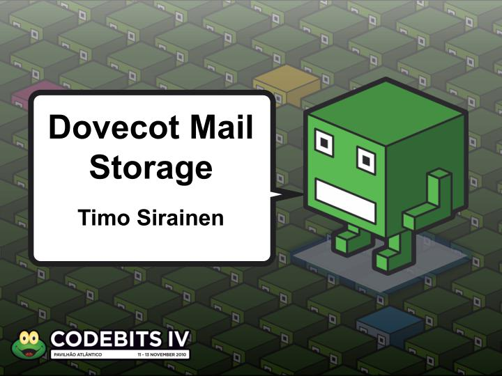 dovecot m ail storage n.