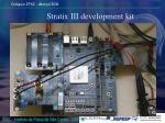 stratix iii development kit
