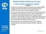 ushahidi projet du b nin pour la lutte contre violence contre les enfants