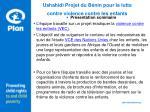 ushahidi projet du b nin pour la lutte contre violence contre les enfants1