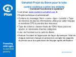 ushahidi projet du b nin pour la lutte contre violence contre les enfants10
