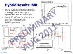 hybrid results md