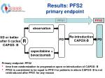 results pfs2 primary endpoint