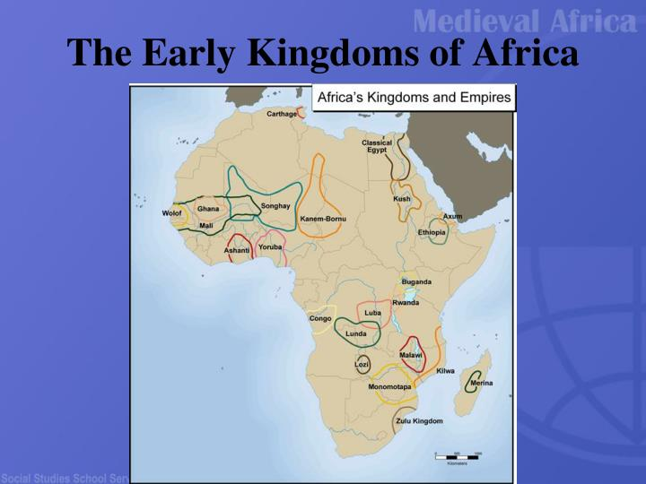 the early kingdoms of africa n.
