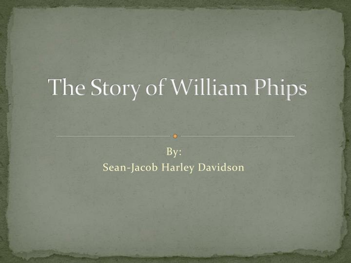 the story of william phips n.