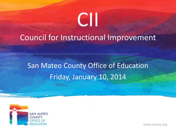 cii council for instructional improvement n.