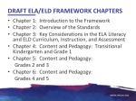 draft ela eld framework chapters
