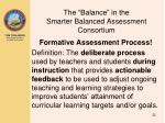 the balance in the smarter balanced assessment consortium