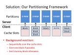 solution our partitioning framework1