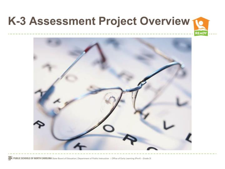 K-3 Assessment Project Overview