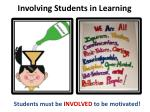involving students in learning