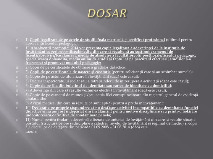 DOSAR