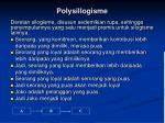 polysillogisme