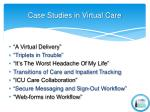 case studies in virtual care