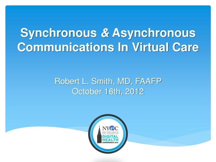 robert l smith md faafp october 16th 2012 n.
