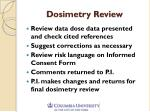 dosimetry review1