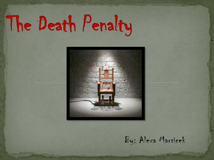 the death penalty n.
