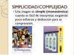 simplicidad complejidad