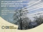 uk utility vegetation management benchmarking what it means to you