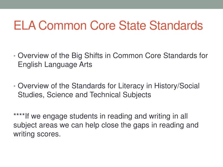 ela common core state standards n.