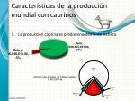 caracter sticas de la producci n mundial con caprinos