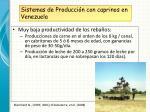 sistemas de producci n con caprinos en venezuela1