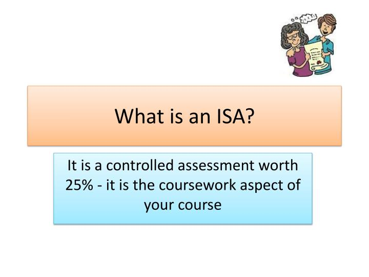 what is an isa n.