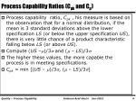 process capability ratios c pk and c p
