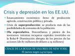 crisis y depresi n en los ee uu