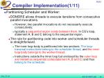 compiler implementation 1 11