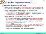 compiler implementation 2 11