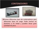 contenedores