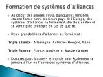 formation de syst mes d alliances