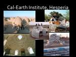 cal earth institute hesperia