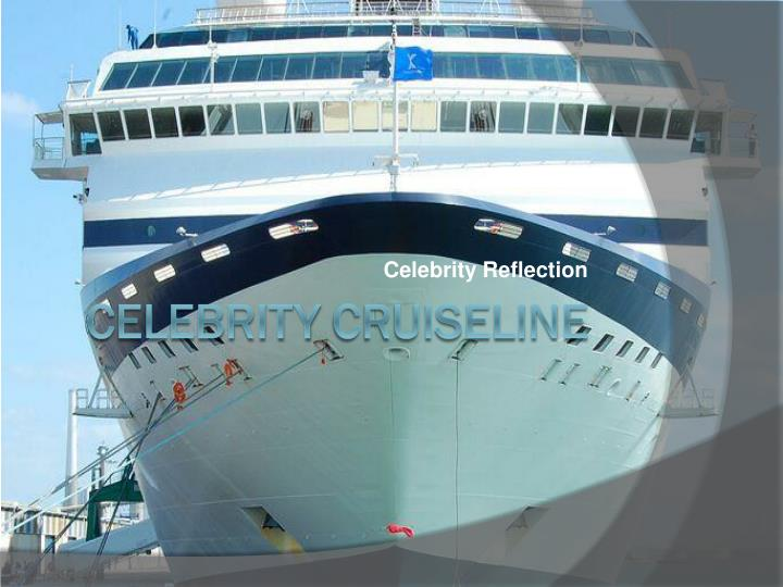 celebrity reflection n.