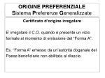 origine preferenziale s istema p referenze g eneralizzate2