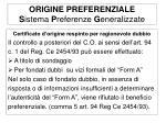 origine preferenziale s istema p referenze g eneralizzate4