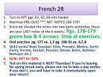 french 2r