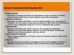 indicatori economici primo bimestre 20141