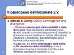 il paradosso definizionale 2 2